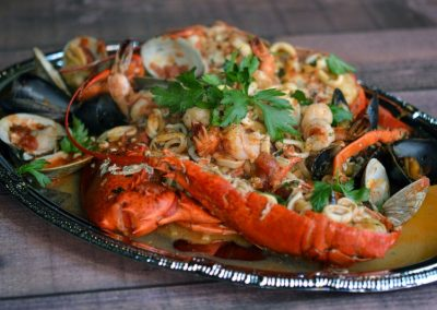 Lobster Linguini Frutti Di Mare